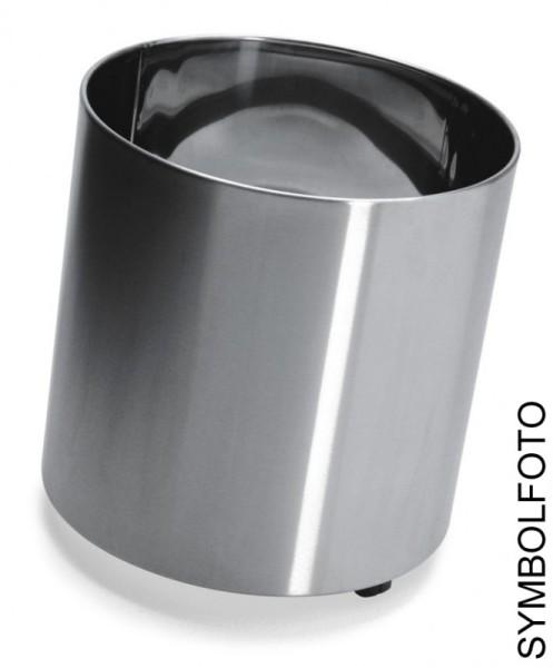 NAXOS Flower pots with wheels made of brushed stainless steel in 6 sizes, Graepel G-Line Pro G-line Pro K00031660,K00031670,K00031680,K00031690,K00031652,K00031710