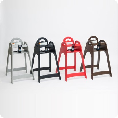 Koala High Child Chair KB105 Design - High quality HDPE plastic - Stackable Koala Kare Products KB105-01KD-INB,KB105-02KD-INB,KB105-09KD-INB,KB105-03KD-INB