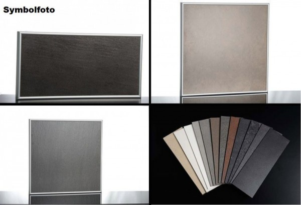 IR-ceramic heater with wall holder and aluminum frame of Elbo Therm Elbo therm TA450,TA450,TA450,TA450,TA450,TA450