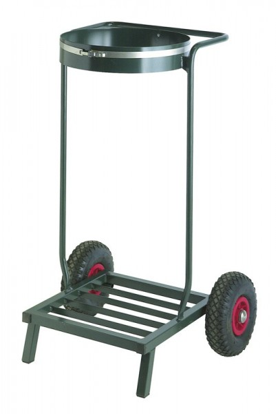 Single mobile sack holder 110 liters VB 204300