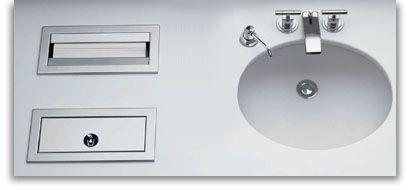 Bobrick Waschraum Einrichtung, Ausstattung und Zubehör aus Edelstahl