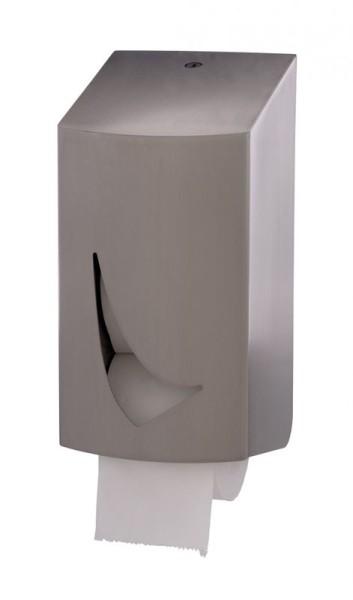 Toilettenpapierspender für 2 kernlose Rollen aus Edelstahl von Wings Wings 4310