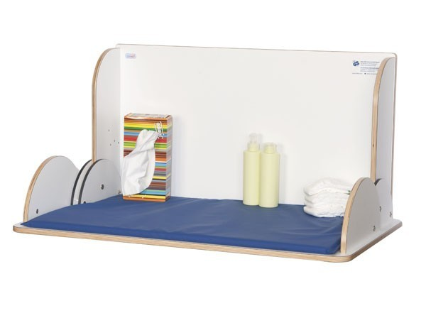 Wall changing table in landscape format made of wood from timkid KAWAQ Timkid GmbH 100116,100123