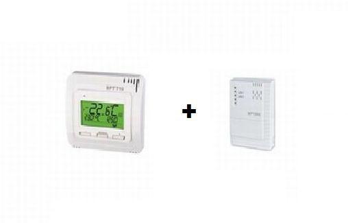 Funk Thermostat mit Empfänger BPT710 - 3 Varianten - Infrarot Heizungsystem Zubehör Elbo therm BPT710,BPT001,BPT002,BPT003