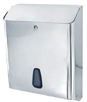 Marplast Towelinox papertowel dispenser made of polished stainless steel MP802 Marplast S.p.A. Towelinox