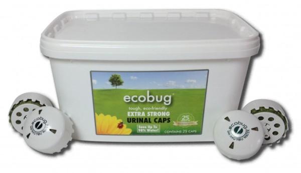 25-er - Set EcoBug® Extra strong urinal cap - Wasserloses Urinal-System Ecobug E1001,E1002
