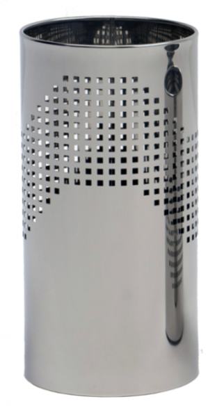 Graepel QUADROTTO umbrella stand made of stainless steel, perforated G-line Pro K00016680