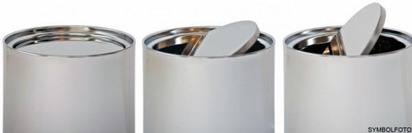 Graepel G-Line Pro Wäschebehälter Swinging Edelstahl 1.4016 gebürstet mit Tasche G-line Pro K00035420