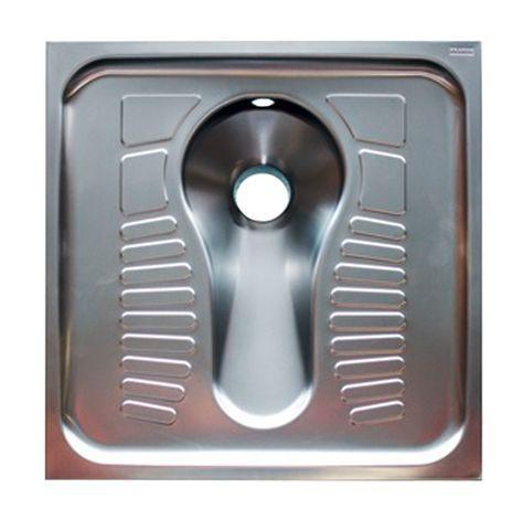 Hock-WC zur flächenbündigen Einlege- oder Auflegem...
