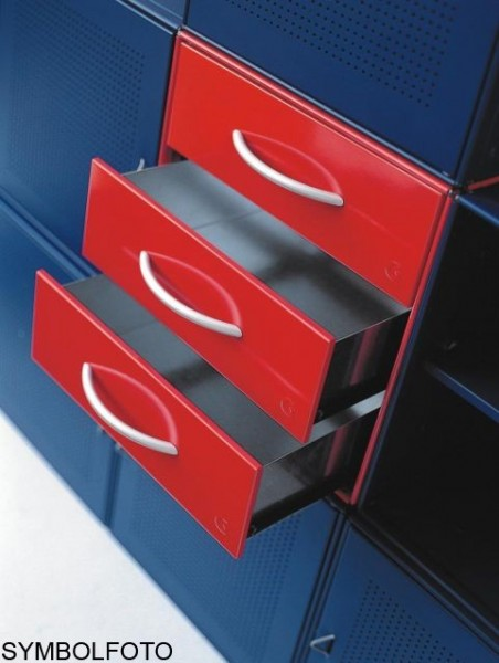 Graepel High Tech 3 hochwertige Schubladen aus lackiertem Stahl Graepel Hightech 88051,88052,88054,88024,88025,88056,88057,88028,88021