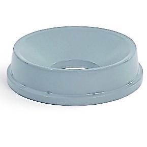 Trichteraufsatz in grau aus Polyethylen passen zu dem Abfalleimer RI000032 RUBBERMAID