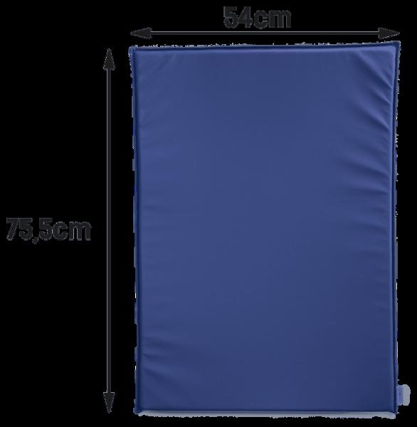 Wickeltisch-Auflage Wecco für den klappbaren Wickeltisch in blau oder weiß Timkid