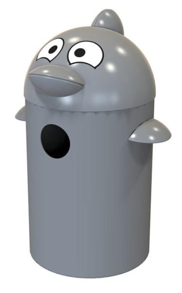Buddy Delfin Abfalleimer aus Kunststoff55 Liter VB 061891