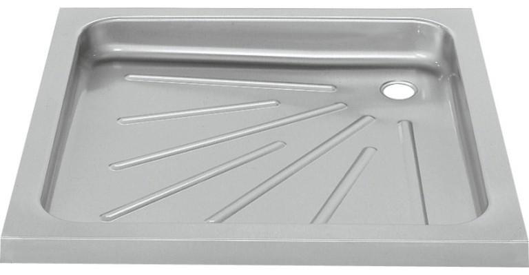 Duschtasse BS400 aus Chromnickelstahl zur Boden-Ei...