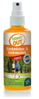Insect-OUT® Stechmücken und Zeckenschutz forte 100 ml - Tropengeprüft