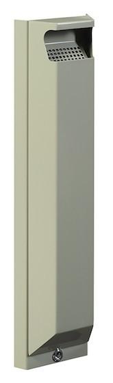 Arkea 3 Liter Ascher zur Wandmontage aus Stahl mit UV-Absorber von Rossignol