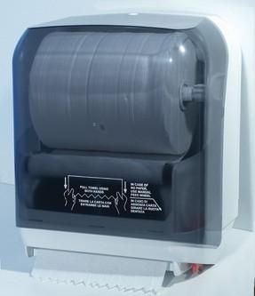 Marplast Papierhandtuchspender Easy Cut MP750 in Weiß oder Satin Marplast S.p.A. A75020,MP750