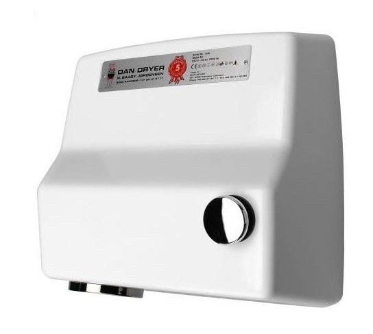 Dan Dryer reliable hand- respectively hair dryer AA with pushbutton Dan Dryer A/S 100