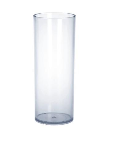 Set 20 piece of Bar glass 0,25l PC plastic crystal clear reusable food safe Schorm GmbH 9066