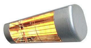 Heatlight Heizstrahler silber mit Infrarottechnologie für...