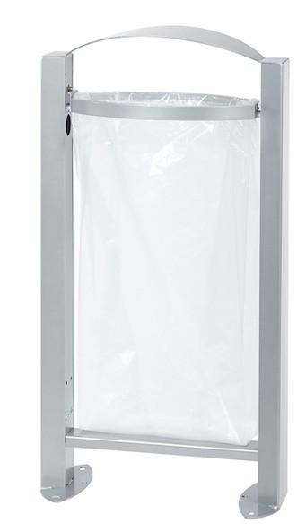 Rossignol Arkea free standing bin 60 liter made of steel with pedestal Rossignol 56341,56344,56343,56248