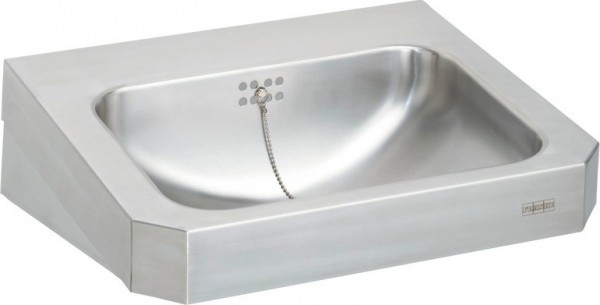 Franke washbasin WT500C made of stainless steel for wall mounting with screen Franke GmbH Variante:Ohne Armaturenbohrungen WT500C,WT500C-M