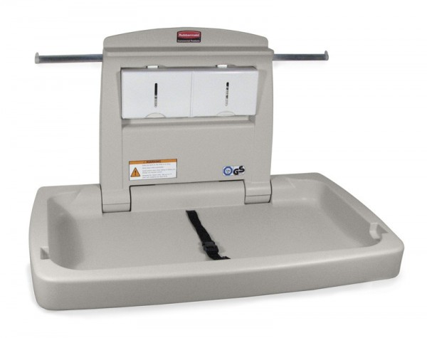 Baby changing station - horizontal, Rubbermaid Rubbermaid VB 007818