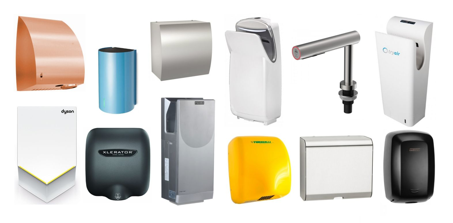 Hand-Dryers-ALL-Colours-Sizes-and-Shapes