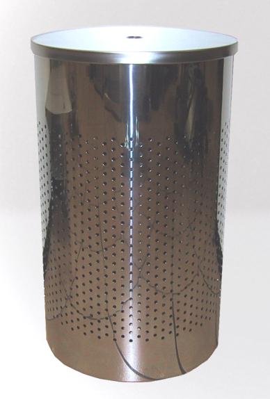 Graepel G-Line Pro hochwertiger WŠschebehŠlter Twin aus poliertem Edelstahl 1.4016 G-line Pro Twins Stainless Steel