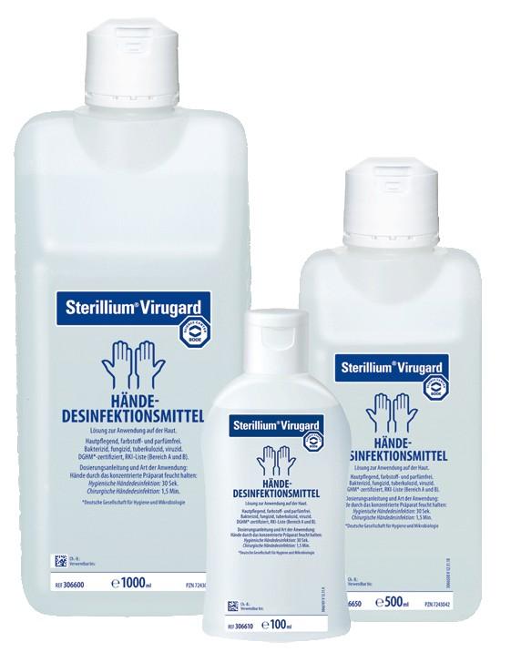 Konstruktiv Sterillium Virugard Desinfektion Händedesinfektion 500ml Business & Industrie Hygiene & Desinfektion