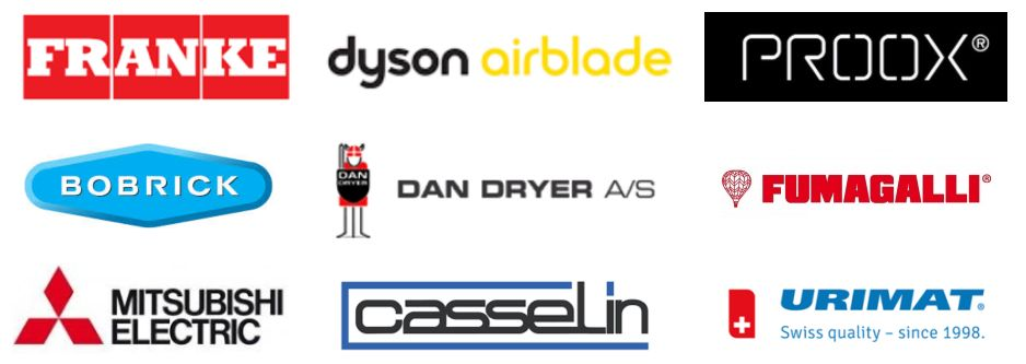 Hand-Dryers-from-Renowned-Manufacturers