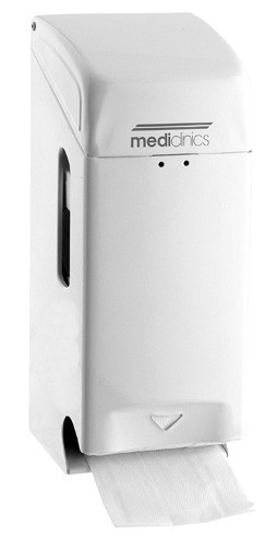 Mediclinics lockable toilet paper dispenser for 2 paper rolls Mediclinics 13214,13211,13218