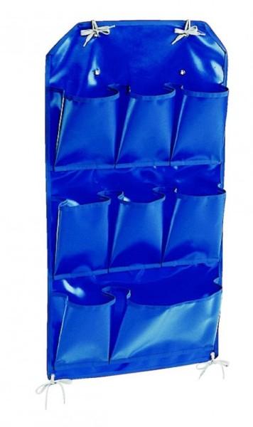 """IPC Euromop blauer PVC-Halter mit 8 Fächer passend zum """"X"""" Putzwagen"""