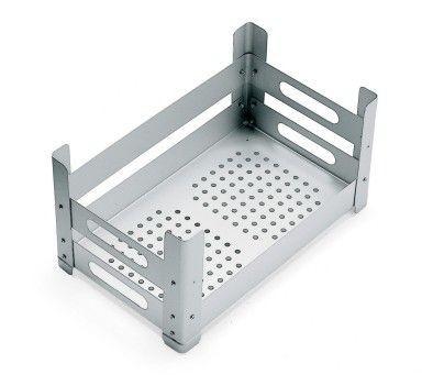 Graepel High Tech italienisches P.U.B Multifunktions-Schrankelement aus Aluminium Graepel Hightech  P.U.B. Aluminium