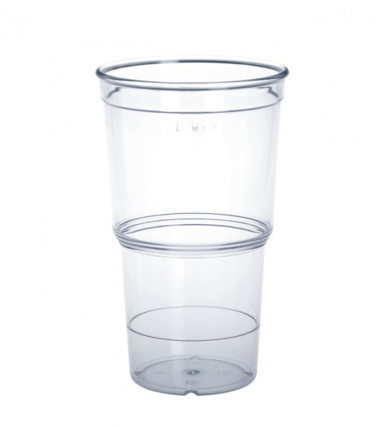 ECO Cup crystal clear 0,25l - 0,4l of plastic available in 2 Variants Schorm GmbH 9064,9065