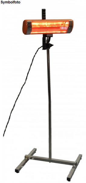 Chrome stand suitable for paint dryer No. item VI000019 Heatlight