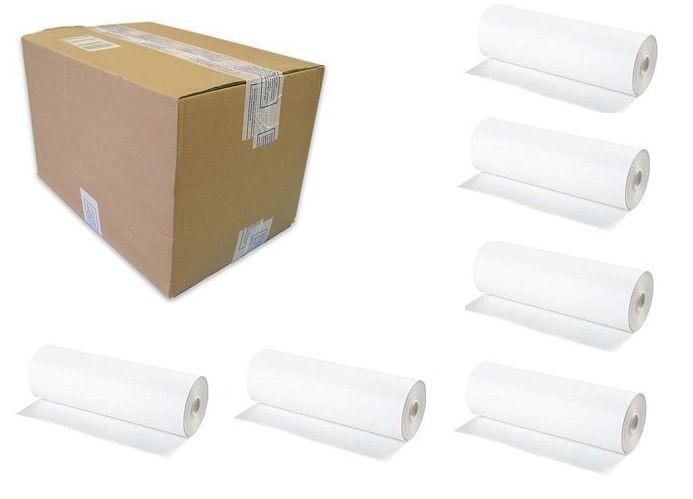 karton mit 6 rollen wickeltisch papierrollen economic hygienische einweg auflage. Black Bedroom Furniture Sets. Home Design Ideas