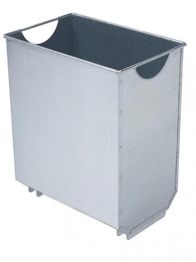 Rossignol Urbanet inner bucket made of galvanised steel available in 30L and 60L Rossignol 59351,59356