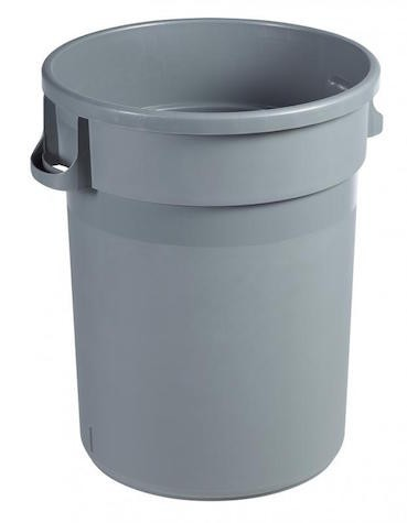 Rossignol Barella garbage can made of polypropylene with 2 built-in handles Rossignol 56556,56557
