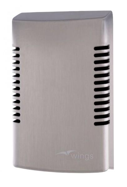 Wings Air Freshener in stainless steel Wings 4092