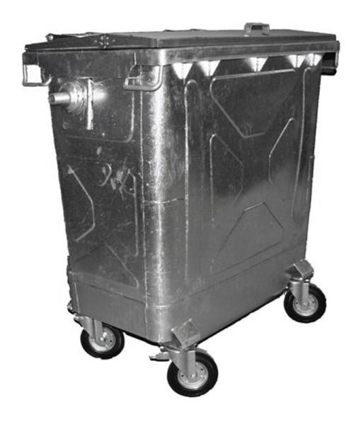 Stahl Container 770 Liter Verzinkt VB 770100