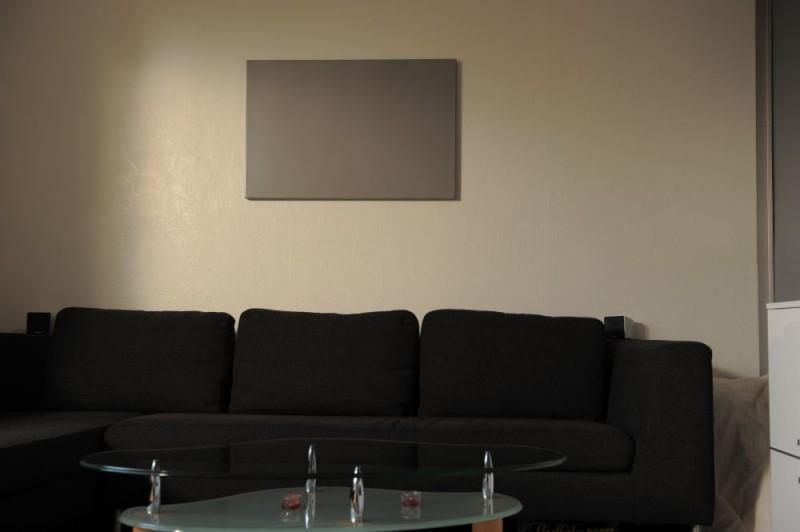 Infrarotheizung im Wohnzimmer