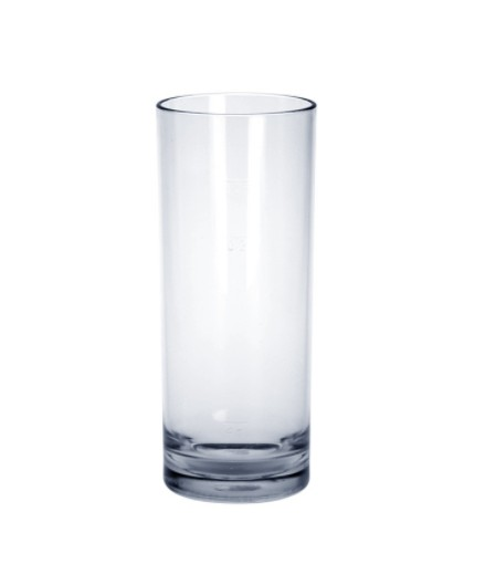 50 piece Bar glass exklusive 0,25l - Plastic crystal clear SET Schorm GmbH 9070