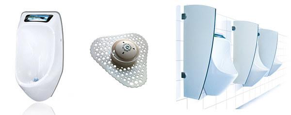 Pissoir, Wasserlose Urinale sowie Siebe, Steine & Zubehör für Privat, Gastronomie, Restaurant, Gemeinde und öffentlichen Bereich