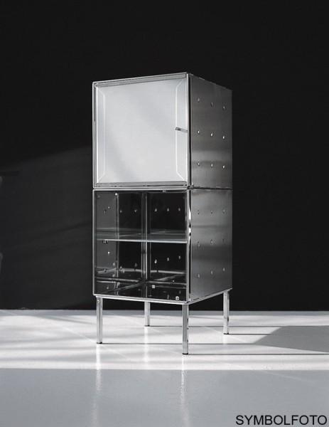 Graepel High Tech hochwertiger QBO base Würfel aus poliertem Edelstahl