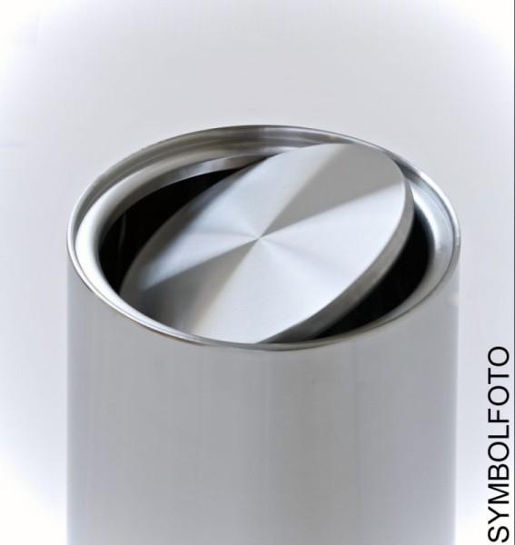 Graepel G-Line Pro Wäschebehälter Swinging Stahl schwarz lackiert mit Tasche G-line Pro K00035402