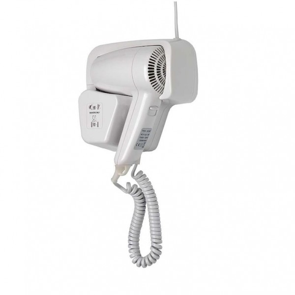 Dan Dryer Elegance hair dryer 1200W made of plastic for installation in drawer Dan Dryer A/S 714