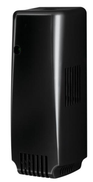 Smart Air programmierbarer Lufterfrischer aus schwarzem Kunststoff 2100-030