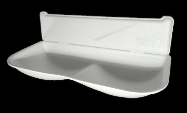 Driplate™ Wassersammler aus Polycarbonat-ABS für Dyson Händetrockner