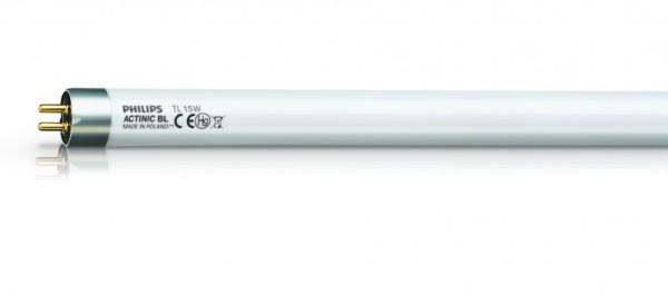 Ersatzrohr UV Actinic BL TL-K 450mm 15 Watt mit Splitterschutz und 8000 Stunden Lebensdauer Insect-o-cutor TPX15-18S